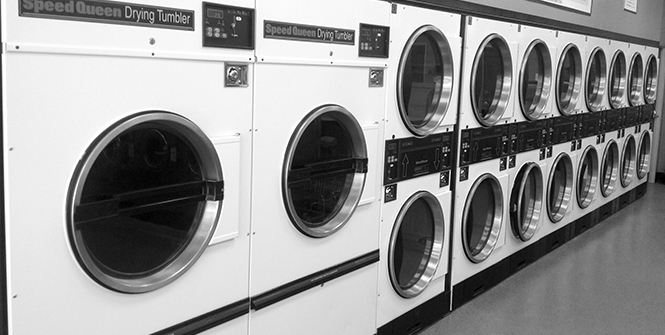 Well-Maintained Washing Machines